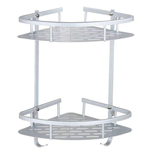 2 Tiers Bathroom Corner Shelves