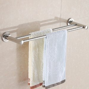 Double Towel Rack Holder