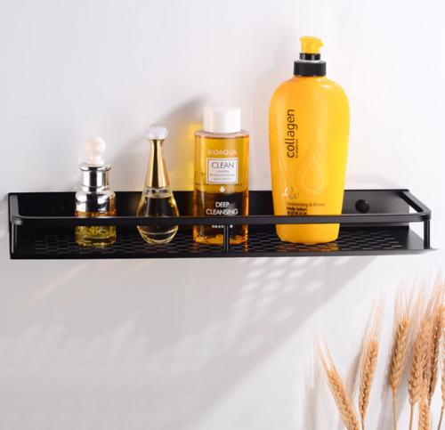 bathroom shelf rack