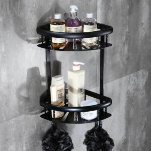 2 tier bathroom shelve